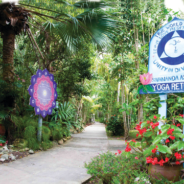 Sivananda Bahamas Ashram Yoga Retreat