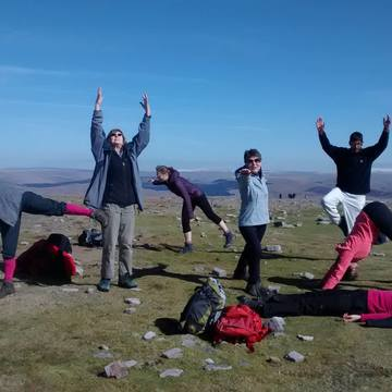 Yorkshire Dales Foothills: Walking and Yoga