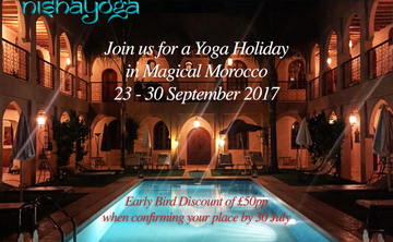 Yoga Holiday in Magical Morocco, September 2017