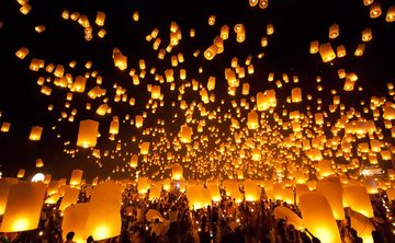 Chang Mai Lantern Festival and Ayahusca Retreat (Nov 2017)