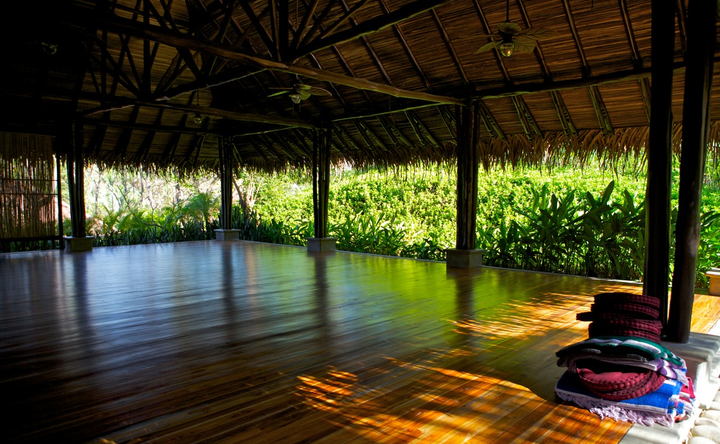 Blue Spirit Costa Rica yoga space