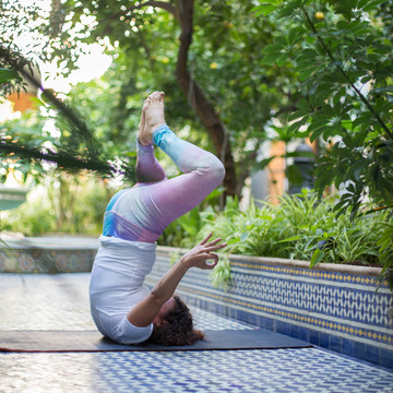 Luxury yoga retreat with Aditi