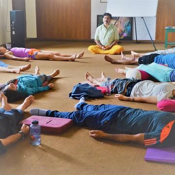 15 days yoga retreat rishikesh india