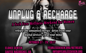 Unplug and Recharge - A Tech Free Wellness Weekend for Women