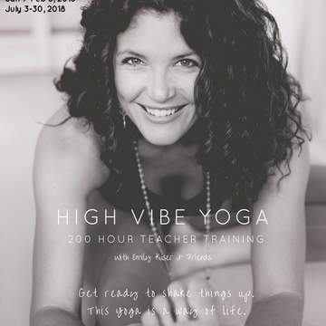 200 Hour High Vibe Yoga Teacher Training