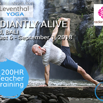 200 Hour Yoga Alliance Foundation Teacher Training in Bali with Les Leventhal