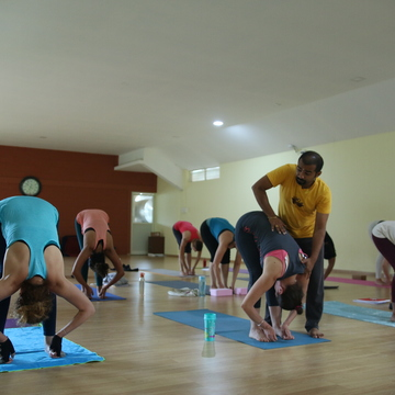 28 days Ashtanga Yoga Teacher Training - November 2017 Mysore India