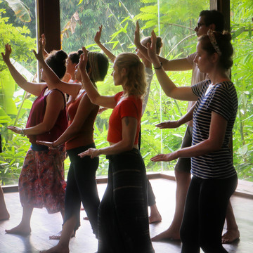 Bali Ba Duan Jin Qigong with Peter Caughey