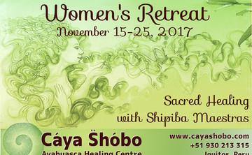 Women's Sacred Healing Retreat, Nov 15-25
