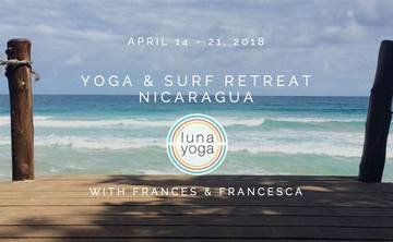 Yoga & Surf Retreat in Nicaragua 2018