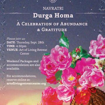 Navaratri Durga Homa Sankalpa
