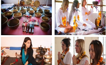 Tibetan Singing Bowls Sound Healing Training Program in Rishikesh, India