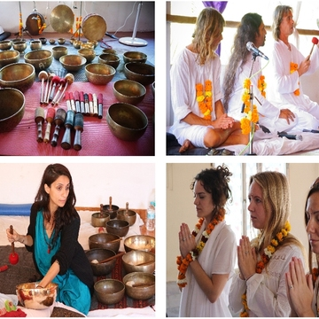 Tibetan Singing Bowls Sound Healing Training Program in Goa, India