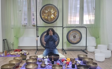 7Days- Gong Master Training &Tibetan Singing Bowls Course in North Goa, India
