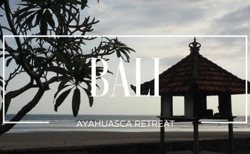 Bali Premium Ayahuasca retreat (Feb 1-9, 2018)