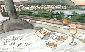 Watercolor Sketching Candace Rose Rardon | Portugal
