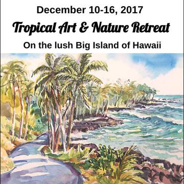 Tropical Art & Nature Retreat on the Big Island of Hawaii
