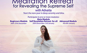 International Meditation Retreat for Revealing the Supreme Self Atman