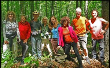 Menla Fall Volunteer Trail Restoration Retreat