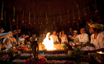 Full Moon Agni Hotra Fire Ceremony