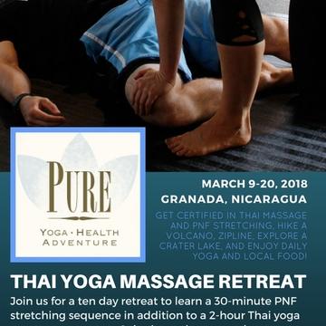 Thai Yoga Massage Training in Nicaragua