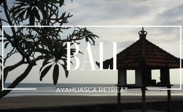 Bali Premium Ayahuasca retreat (Oct 2017)