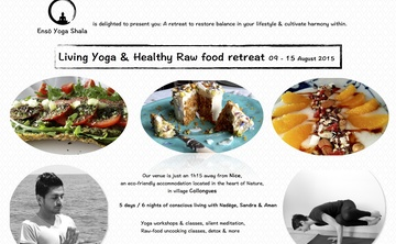 Living Yoga & Healthy Raw vegan food retreat 5days / 6nights