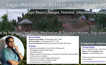 Yoga-Meditation Retreat in the Himalayas