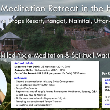 Yoga-Meditation Retreat in the Himalayas