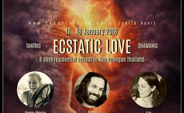 ECSTATIC LOVE - 8 Day Tantric & Shamanic Retreat