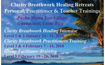 Clarity Breathwork PachaMama Costa Rica Levels 1 - 5