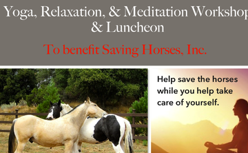 Yoga, Relaxation, & Meditation Workshop & Luncheon