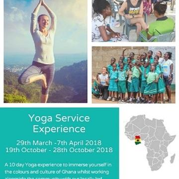Move the World Yoga Service Experience