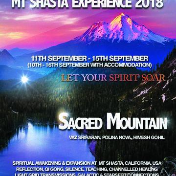 Mt Shasta Experience 2018