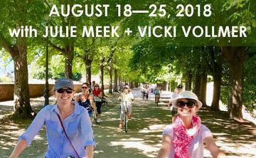 ITALIAN YOGA + WELLNESS RETREAT WITH JULIE MEEK + VICKI VOLLMER    AUGUST 18 – 25, 2018