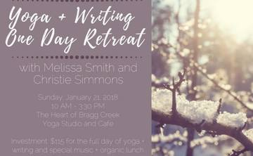 Yoga + Writing Calgary Day Retreat