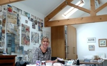 Mixed Media Workshop Shelley Rhodes Ireland