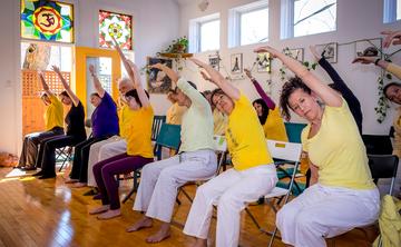 Chair Yoga Training: Making Yoga Accessible