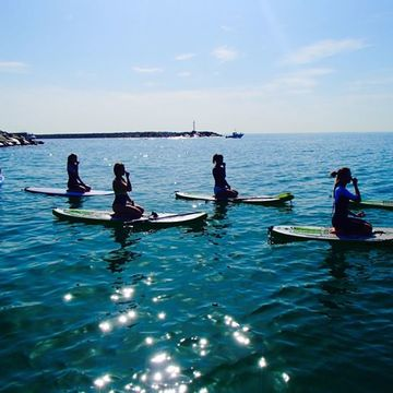 Stand Up Paddle Board Yoga Workshop