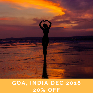 Yoga Retreat in Goa, India – New Years Eve Release & Let Go Part I