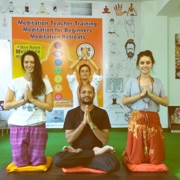 28 Days Meditation Teacher Training India
