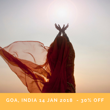 SOLD OUT – Yoga Retreat in Goa, India – Energise & Awaken Part II