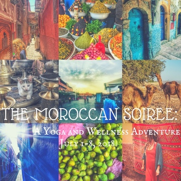 The Moroccan Soiree: a Yoga and Wellness Retreat