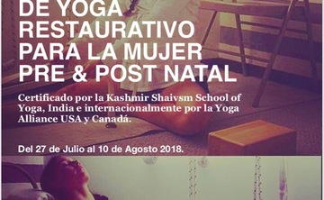 Barcelona -yoga restaurativo para la mujer / restorative yoga teacher training for women in Barcelona