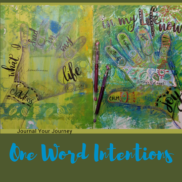 One Word Intentions: Journaling into the New Year… Jan 27th 4:15-5:45pm