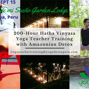 21 Days RYT 200-Hour Hatha Vinyasa Teacher Training with Amazonian Detox | Adjustments – Inversions - Pranayama