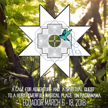 Heart Journey to the Centre ~ Ecuador, March 2018