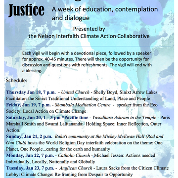 The West Kootenay Eco Society Presents: Encountering Climate Justice