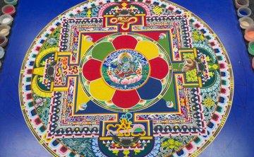 The Sacred Art of the Sand Mandala