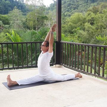 Master Ramdas at Wareerak Hot Spring Retreat